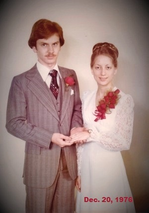 Charles & Cathy Dec, 20, 1976 (1)